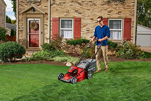 Snapper HD 48V MAX Cordless Electric Self-Propelled 20-Inch Lawn Mower Kit with (1) 5.0 Battery and (1) Rapid Charger