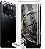 T-LUCOOK für Xiaomi mi 11 ultra [3 Stück] Folie und [3 Stück] Kamera Panzerglas, Blasenfreie Weich TPU Displayschutzfolie Vollständige Abdeckung Fingerabdruck-ID unterstützen,mit Stellungsregler
