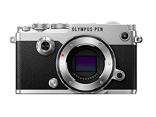 Olympus Pen-F cámara de Sistema Micro Cuatro Tercios, 20 megapíxeles, estabilizador de Imagen de Cinco Ejes, Visor electrónico, Plata
