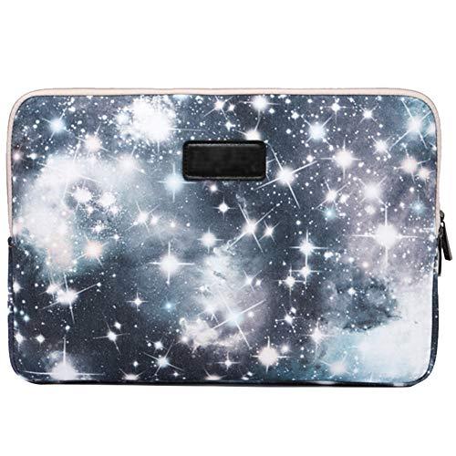 6.5 Funda - Laptop Bolsa Sleeve - Patrón Galaxy - Impermeable,Prueba de Golpes,Anti-arañazos - Elegante y Moda - para Macbook/Acer/ASUS/DELL/Fujitsu/Lenovo/HP/Samsung/Sony/Toshiba,Gris
