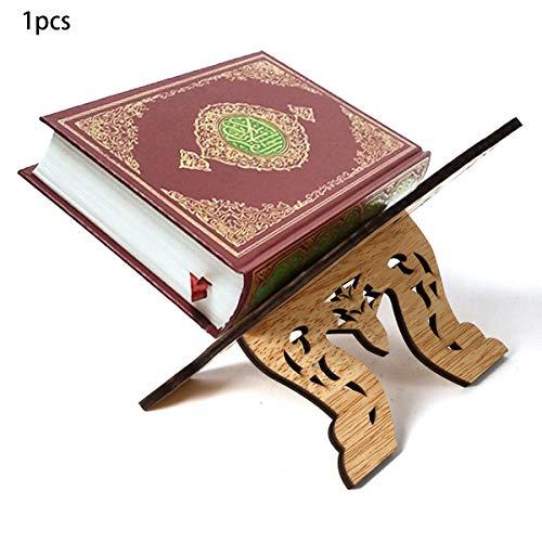Gugutogo Kuran Quran Koran Heiliges Buch Ständer Halter Holztafel Islam Eid Ramadan Mubarak Home Decoration