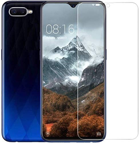 Lofad Case Tempered Glass for Realme C2 Screen Guard protecter