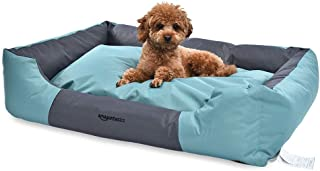 AmazonBasics Water-Resistant Pet Bed, Rectangular