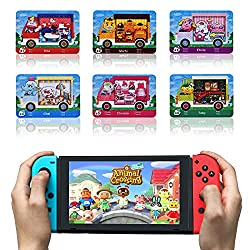 Third party NFC cards, but same function as Animal Crossing Amiibo Cards. Small size 1.25*0.82*0.05 inches, you can easy to share this NFC cards with your friends, unlimited times use on multiple console. Compatible with Nintendo Switch/Lite, WII U a...