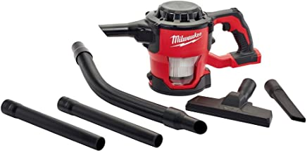 Milwaukee M18 18-Volt Lithium-Ion Compact Vacuum Bare Tool (Tool-Only) | Hardware Power Tools for Your Carpentry Workshop, Machine Shop, Construction or Jobsite Needs