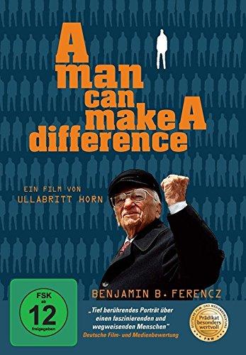 A Man can make a Difference - Benjamin Ferencz: Chefankläger im Nürnberger Einsatzgruppen-Prozess gegen die Mordbanden der SS [Alemania] [DVD]