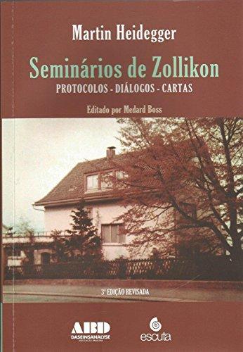 Seminários de Zollikon: Protocolos, Diálogos, Cartas