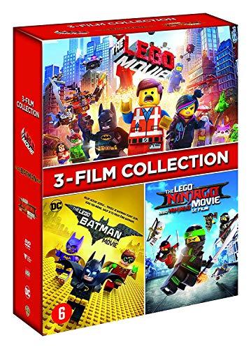 Coffret films lego 3 films : la grande aventure lego ; lego batman le film ; lego ninjago le film [FR Import]