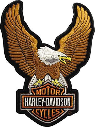 Harley-Davidson Aufnäher Upwing Eagle Braun