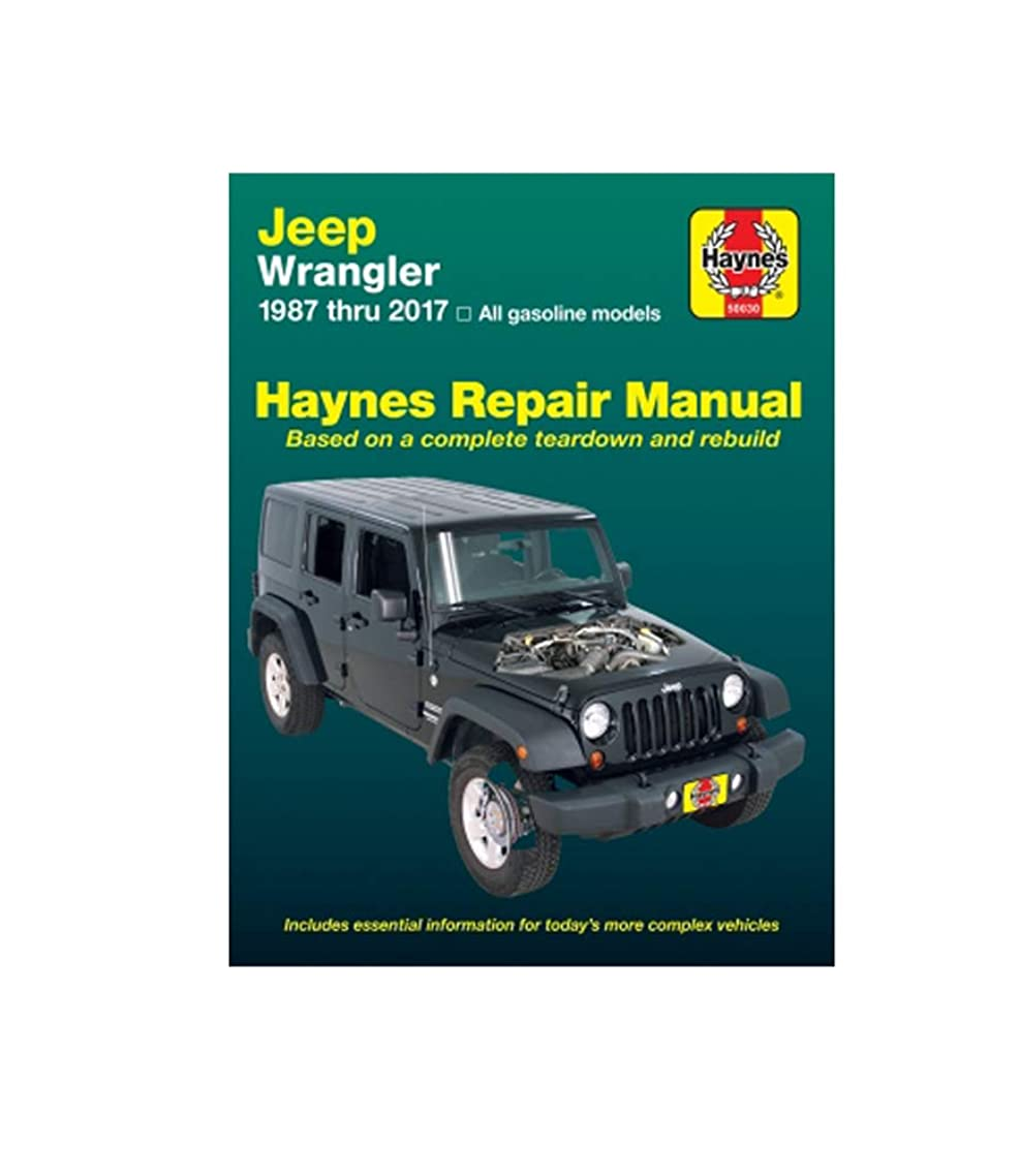 Haynes Jeep Wranglar (87-17) Manual (50030)