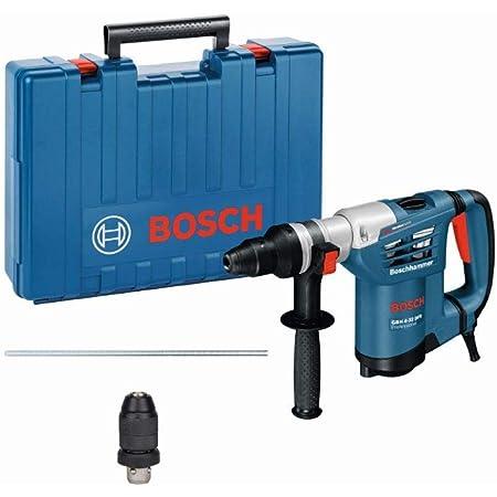 Bosch Professional 0 611 332 101 Martello Perforatore GBH 4-32 DFR, SDS Plus, Potenza del Colpo: 4.2 J, Asta di profondità: 310 mm, in Valigetta, W, 900 Watt