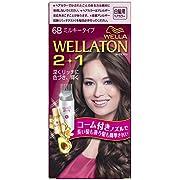 [医薬部外品]ウエラトーン 2+1 ミルキー EX 6B やや明るいピュアブラウン(おしゃれな白髪染め)