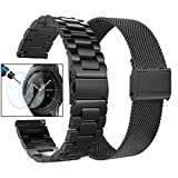 Valkit Compatible Galaxy Watch 42mm Bands, 2-Pack 20mm Stainless...