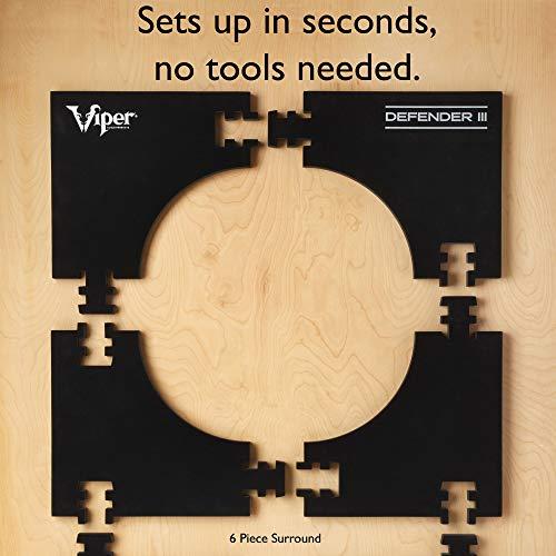 Viper Defender III Wandschutz für Dartscheibe, verlängert - 3