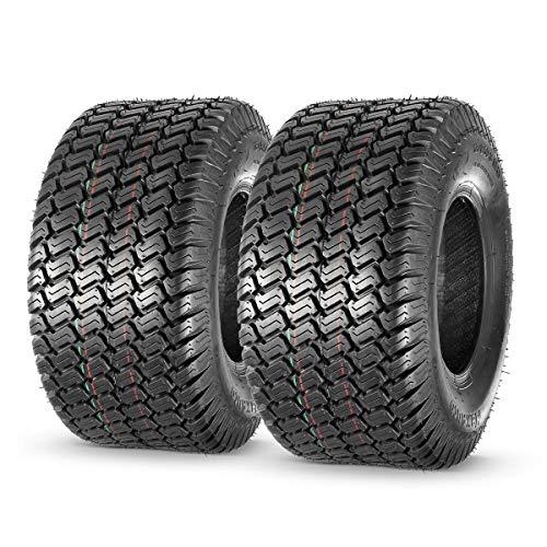 MaxAuto 18x8.50-8 18x8.5x8 Lawn Mower Golf Cart Turf Tires 4PR P332, Set of 2