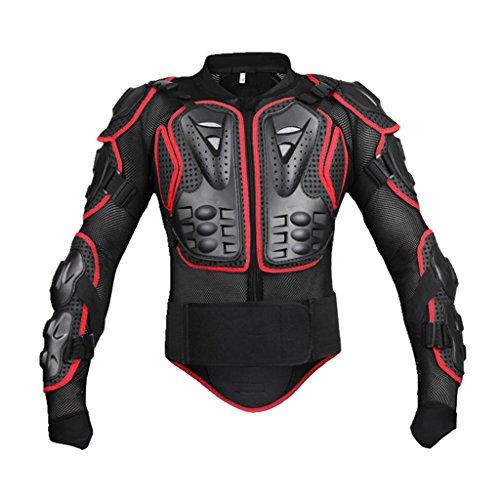 B Blesiya Armadura Protectora de Motocicleta para Hombre - Rojo, S