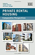 Private Rental Housing: Comparative Perspectives by Tony Crook (2014-04-30)