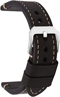 Cinturino Orologi Cuoio Hombres Repuesto Correa Hebilla Pequeña De Acero Inoxidable Compatible Relojes Tradicionales Deportivos Accesorios