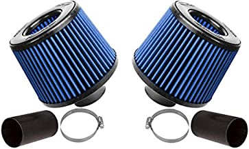 BMS Dual Cone Performance Intake for N54 BMW 135 335 535 Z4 (BLUE FILTERS)