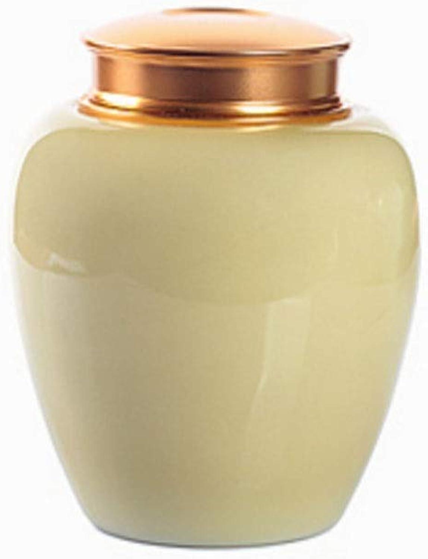 Ceramic Pet Casket, Portable Pet Urn, Celadon Sealed Porcelain Jar, Ceramic Sealed Urn, Cat Box, Dog Box, Celadon Storage Box, Sealed Coffin, Pet Box, (color   Pink)