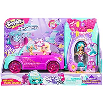 Shopkins Happy Places Mermaid Convertible, Mu | Shopkin.Toys - Image 1