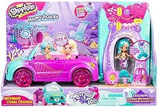 Shopkins Happy Places Mermaid Convertible, Multicolor (B07DYLC3H4)