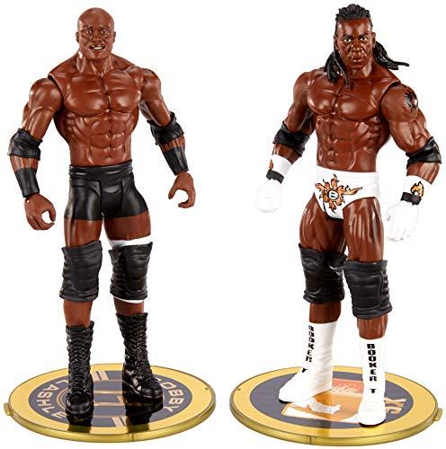 WWE Bobby Lashley vs King Booker Championship Showdown 2 Pack 6 en figuras de acción Friday Night Smackdown Battle Pack para edades de 6 años y más