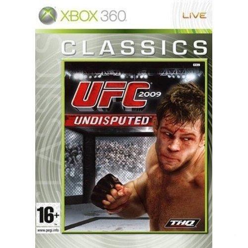 THQ  UFC 2009 Undisputed - Platinum, Xbox 360, FR