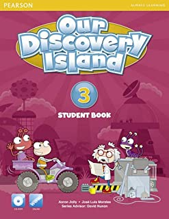 Our Discovery Island American Edition Students Book 3 plus pin code for Pack