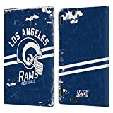 Head Case Designs Licenciado Oficialmente NFL Casco Distressed Look 100th Los Angeles RAMS Logo Art ...