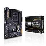 Asus TUF B450-Pro Gaming Motherboard (ATX) AMD Ryzen 3 AM4 DDR4, HDMI, Dual M.2, USB 3.1 Gen 2 and Aura Sync RGB Lighting B450