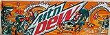 NEW Mtn Dew Baja Punch 12 fl oz cans, 12 count