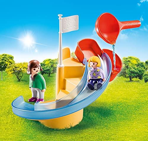 Tobogán de agua Playmobil 1.2.3 Aqua (70270)
