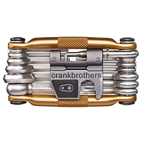 M19 Bicycle Multi-Tool - Steel Bike Tool, Torx, Hex and Chain Tool Compatible