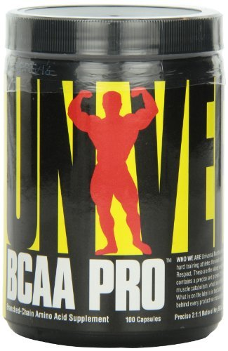 Universal Nutrition Bcaa Pro, 100 Capsules (Pack of 3)