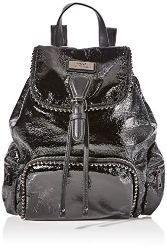 XTI 86133, Bolso mochila para Mujer, Negro (Negro), 23x30x12 cm (W x H x L)