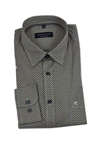 Casa Moda - Comfort Fit - Herren Freizeit Hemd mit Kent Kragen (403556500), Größe:3XL, Farbe:Blau (101)