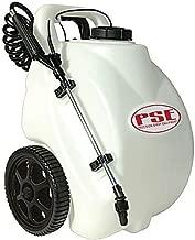 battery powered garden sprayer on wheels