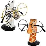 Weewooday 2 Piezas Soportes de Gafas de Animales de Madera Soporte de Gafas de...
