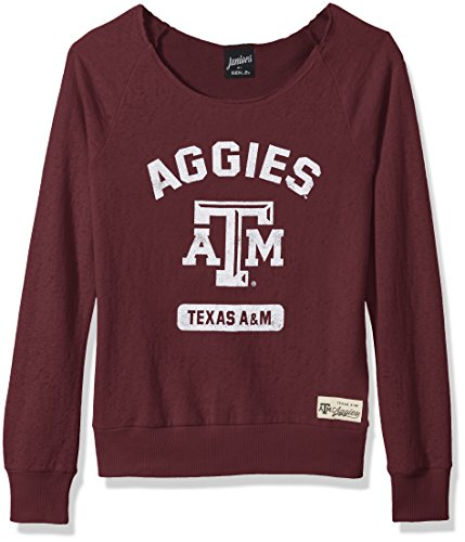 Outerstuff NCAA Texas A&M Aggies Juniors Wide Receiver Sweatshirt, Team-Farbe, Größe XL (15-17)