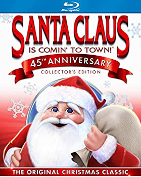Blu-ray Santa Claus Is Coming to Town Book