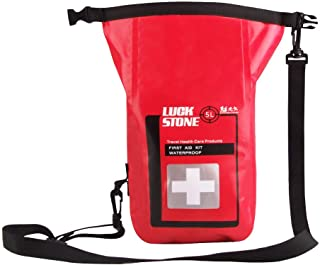 SUNWOOD First Aid Kit with Durable for Home, Car, School, Office, Sports, Travel, Adventure, Backpacking, Cycling, Outdoor...