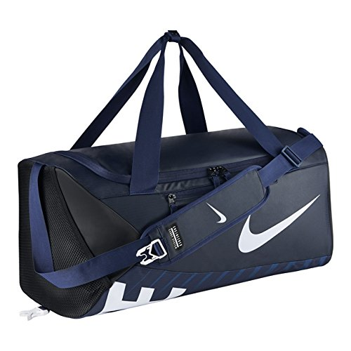 Nike Sporttasche Herren Alpha Adapt Crossbody Duffel, BA5182-410, blau (Midnight Navy/Black/White), 61 x 28 x 28 cm, M-52 Liter