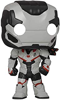 Funko Pop! Marvel: Avengers Endgame - Máquina de guerra (traje de equipo) Amazon exclusivo, multicolor