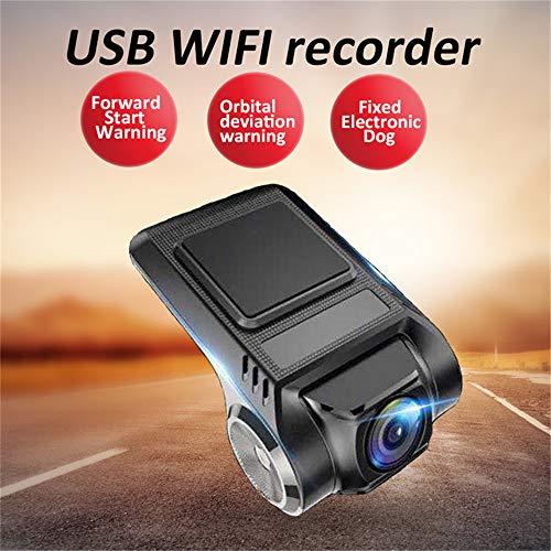 LASPERAL DashCam Auto Kamera Aufnahmegerät Fahren Auto Dashcam 1080p HD Dashcam Kamera Drive Recorder Rückspiegel Monitor mit Rückfahrkamera Lens Touchscreen 170° Weitwinkel