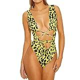 Traje de baño Bikini de baño con Estampado de Serpiente para Mujer Traje de...
