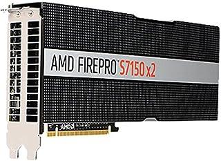 AMD Graphics Card - 2 GPUs - FirePro S7150-16 GB GDDR5 - PCIe 3.0 x16 - fanless