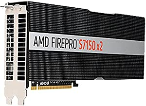 AMD Graphics Card - 2 GPUs - FirePro S7150-16 GB GDDR5 - PCIe 3.0 x16 - fanless