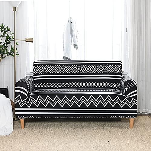 ASCV Funda de sofá Impermeable Funda de sofá elástica Funda de sofá Impresa Funda de sofá A6 3 plazas