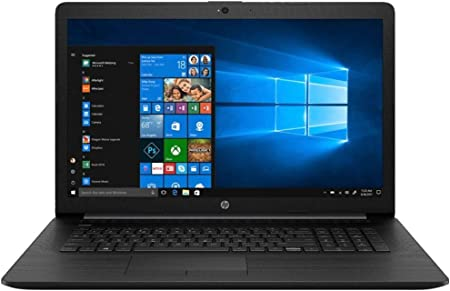Amazon.com: HP (17-BY1053DX) 17.3 Laptop - Core i5-8265U - 8GB Memory - 256GB Solid State Drive - Windows 10 Home in S Mode - Jet Black/Maglia Pattern : Electronics